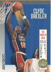 1992-93 SkyBox Olympic Team #USA1 Clyde Drexler