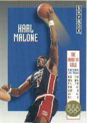 1992-93 SkyBox Olympic Team #USA4 Karl Malone
