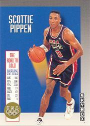 1992-93 SkyBox Olympic Team #USA5 Scottie Pippen