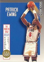 1992-93 SkyBox Olympic Team #USA8 Patrick Ewing