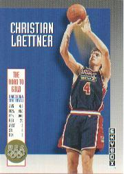 1992-93 SkyBox Olympic Team #USA9 Christian Laettner