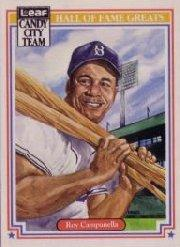 1987 Leaf Special Olympics #H3 Roy Campanella