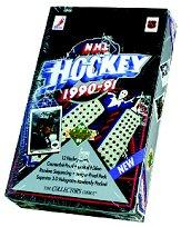 1990-91 Upper Deck Hockey Hobby Box Low Series