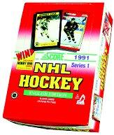 1991-92 Score American Hockey Hobby Box