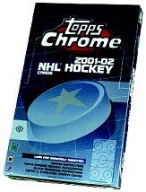 2001-02 Topps Chrome Hockey Hobby Box