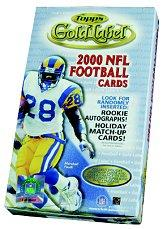 2000 Topps Gold Label Class 1 Football Hobby Box