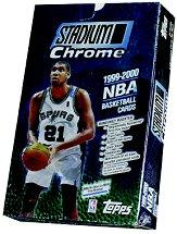 1999-00 Stadium Club Chrome Basketball Hobby Box