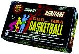 2000-01 Topps Heritage Basketball Hobby Box
