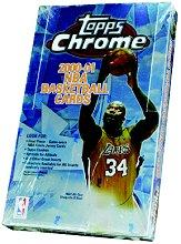 2000-01 Topps Chrome Basketball Hobby Box