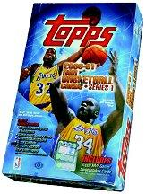 2000-01 Topps Basketball Hobby Box Series 1