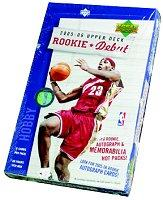2005-06 Upper Deck Rookie Debut Basketball Hobby Box
