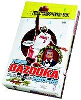 2005-06 Bazooka Basketball Hobby Box