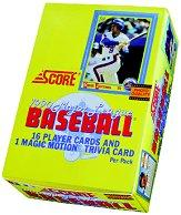 1990 Score Baseball Hobby Box