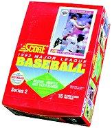 1992 Score Baseball Hobby Box Series 2