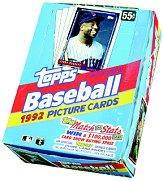 1992 Topps Baseball Hobby Box