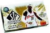 2008-09 SP Authentic Basketball Hobby Box