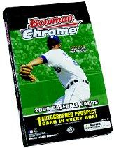 2009 Bowman Chrome Baseball Hobby Box