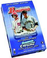 2012 Bowman Baseball Hobby Box card image