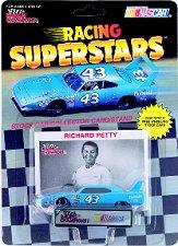 1991-92 Racing Champions Legends 1:64 #43 R.Petty/1970 Plym.Superbird/Racing Superstars blister