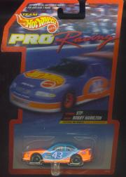 1997 Hot Wheels Pro Racing 1:64 #43  B.Hamilton/STP