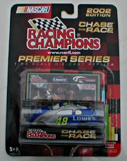 2002 Racing Champions 1:64 #48 J.Johnson/Lowe's First Win/Car Cover/500