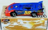 2004 ADC Dirt Late Model Cars 1:24 #50B L.McDaniels