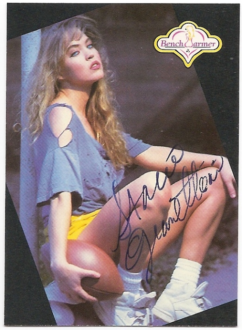 1992 Bench Warmer Autographs #93 Stacie Gianettoni