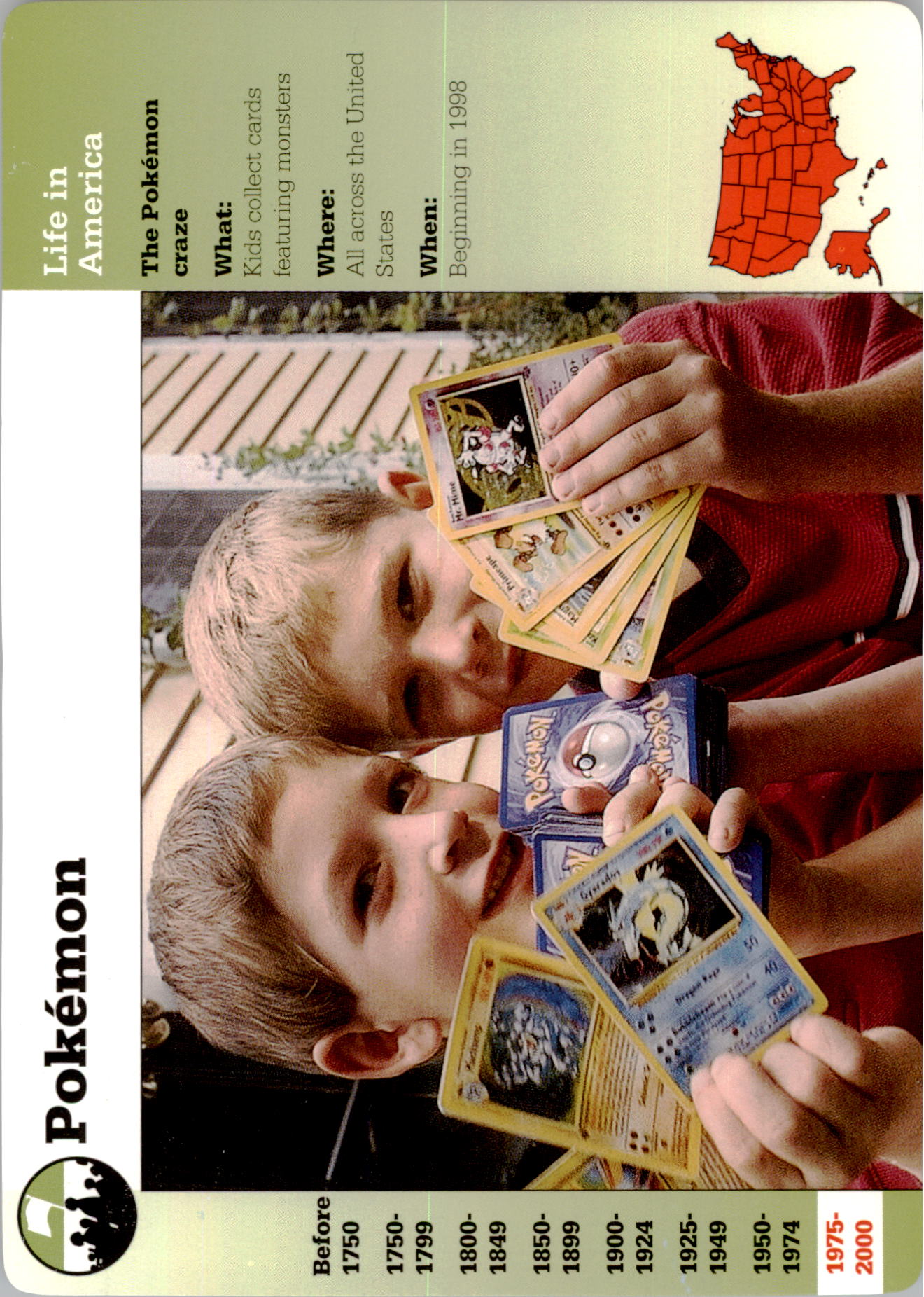 1994-01 Story of America #131-5 Pokemon