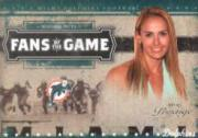 2005 Playoff Prestige Fans of the Game #FG2 Heather Mitts