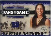 2005 Playoff Prestige Fans of the Game #FG4 Sue Bird