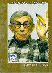 2002 Topps American Pie #117 George Burns