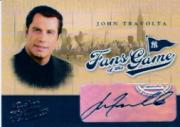 2004 Leather and Lumber Fans of the Game Autographs #1 John Travolta SP/150