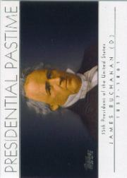 2004 Topps Presidential Pastime #PP15 James Buchanan