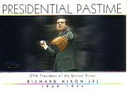 2004 Topps Presidential Pastime #PP36 Richard Nixon