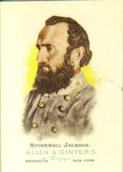 2006 Topps Allen and Ginter #342 Stonewall Jackson