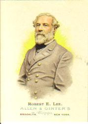 2006 Topps Allen and Ginter #343 Robert E. Lee