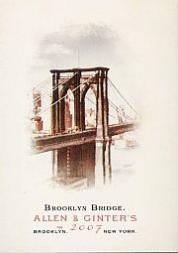 2007 Topps Allen and Ginter #39 Brooklyn Bridge