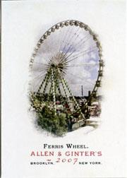 2007 Topps Allen and Ginter #53 Ferris Wheel