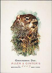 2007 Topps Allen and Ginter #183 Groundhog Day