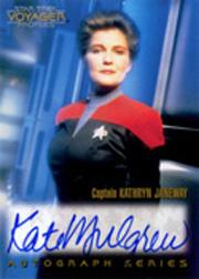 1996 Star Trek Voyager Profiles Autographs #1 Kate Mulgrew