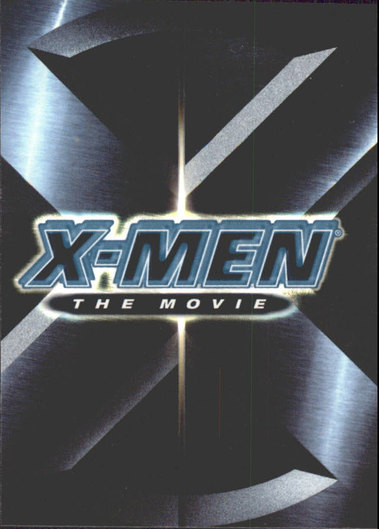2000 X-Men Movie #1 X-Men The Movie