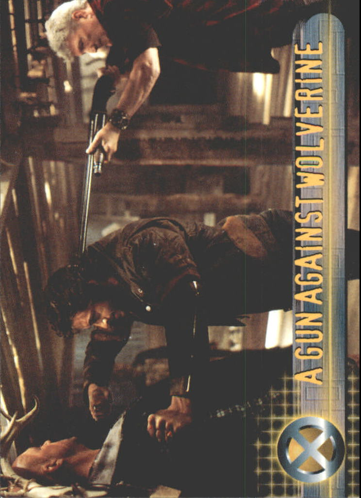 2000 X-Men Movie #19 A Gun against Wolverine