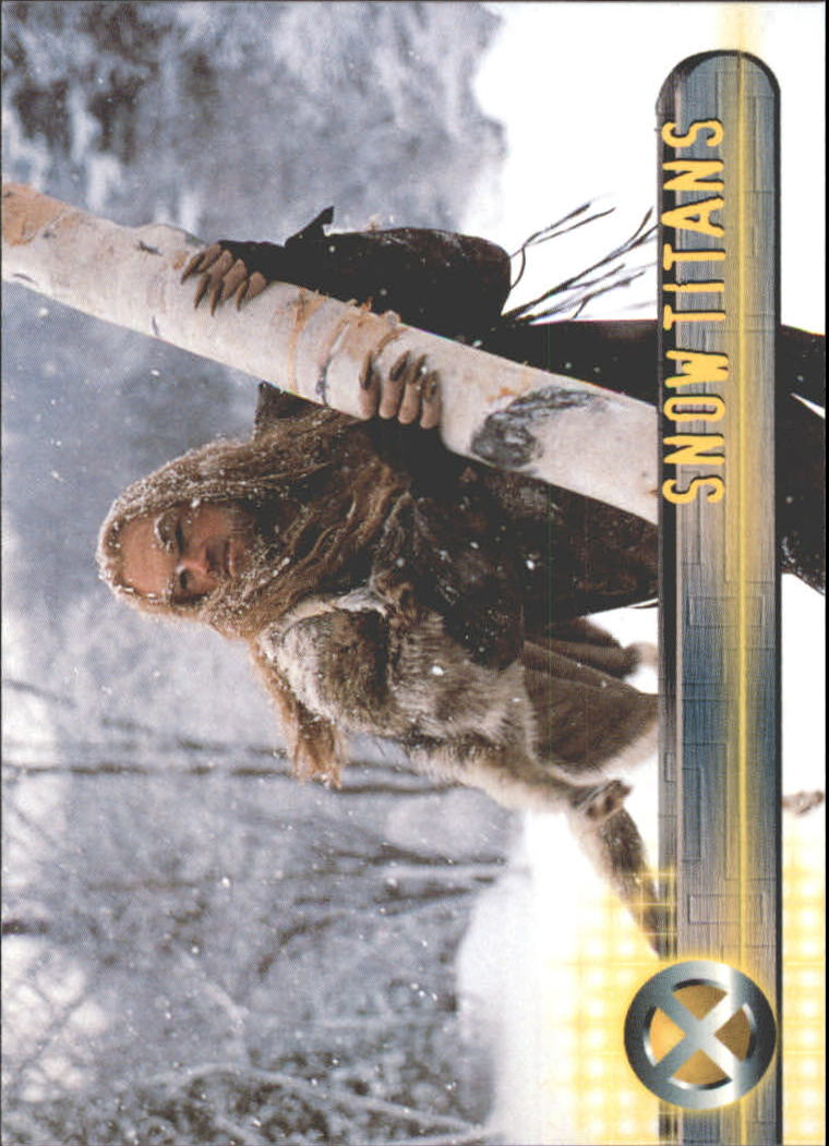2000 X-Men Movie #24 Snow Titans