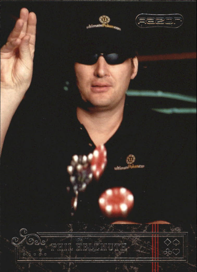 2006 Razor Poker #11 Phil Hellmuth