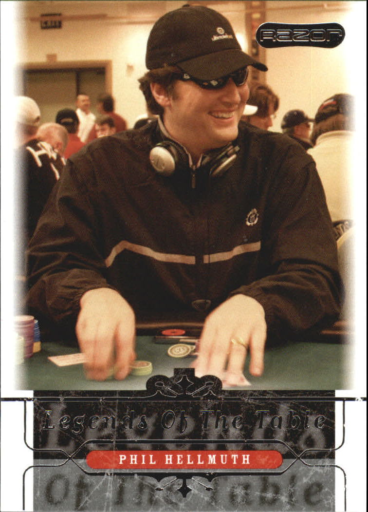 2006 Razor Poker #42 Phil Hellmuth
