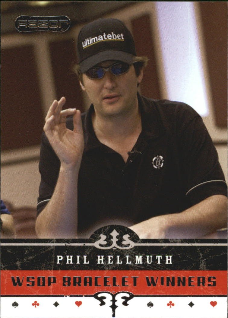 2006 Razor Poker #63 Phil Hellmuth