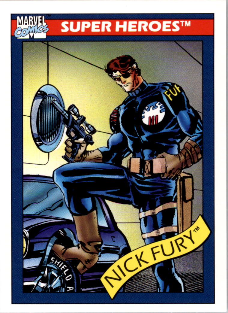 1990 Marvel Universe I #5 Nick Fury