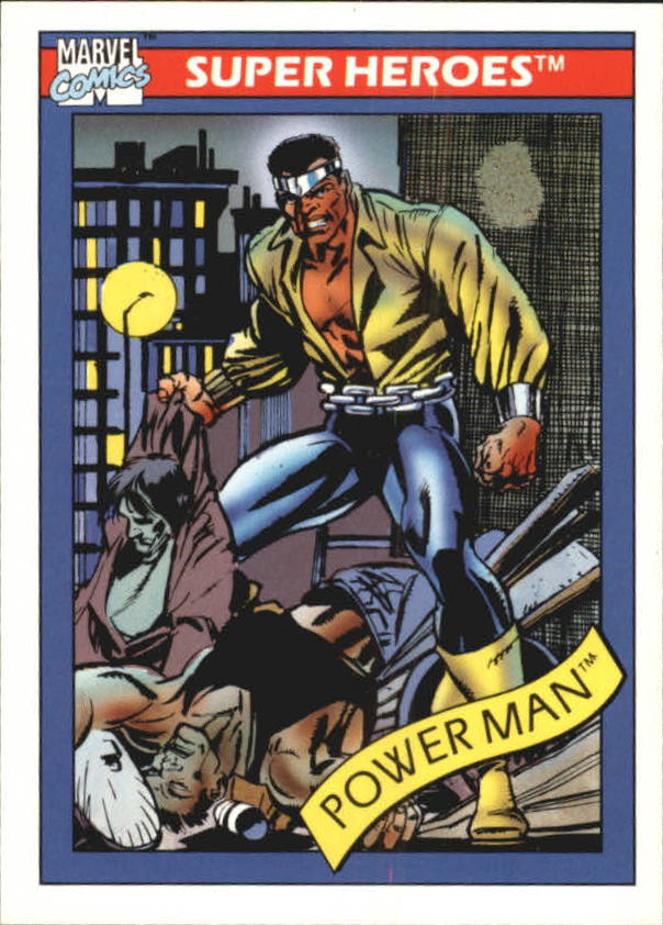 1990 Marvel Universe I #12 Power Man