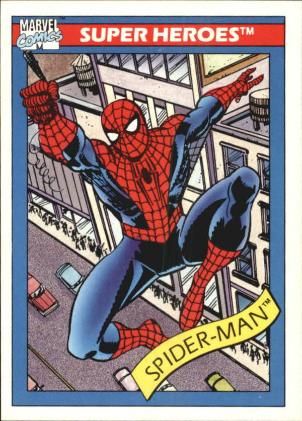 1990 Marvel Universe I #29 Spider-Man