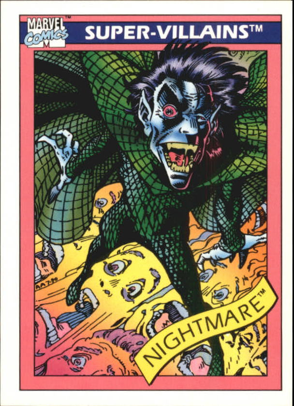 1990 Marvel Universe I #56 Nightmare